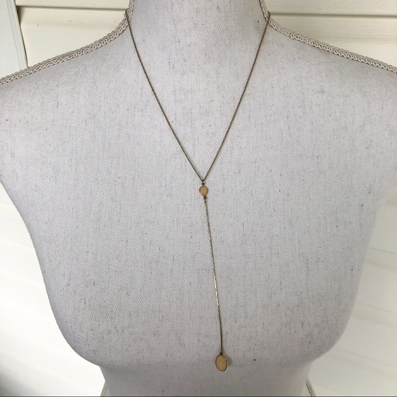 Francesca's Collections Jewelry - Long gem necklace